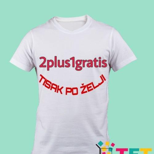 Majice s tiskom 2plus1gratis