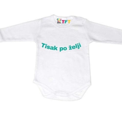 Body za bebe s tiskom