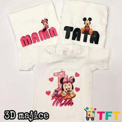 Majice 3D tisak